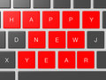 Happy New Year Keys