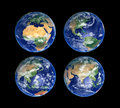 Four Globes