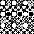 60-70's style seamless texture