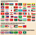Flags of Asian States