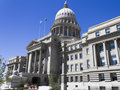 Capital building in boise idaho