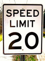Speed Limit 20