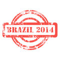 Brazil 2014 stamp