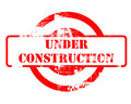 Under construction red stamp
