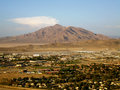Fort Irwin Army Base - with mountain background