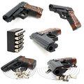 Set of pistol
