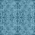 Vintage Blue Tapestry
