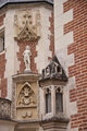 statue on the facade of Clos Luc