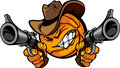 Cowboy Basketball Cartoon Shootout
