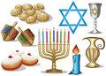 Hanukkah Symbols Pack