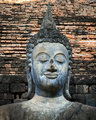 An ancient Buddha image