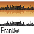 Frankfurt skyline