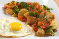 Fried Egg and Fried Potatoes