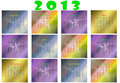 Calendar for 2013 new year