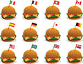 Flags on Sandwiches