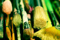 Pile of Paintbrushes