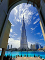The tallest building in the world stands at 828 m tall