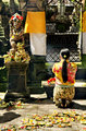 woman praying in temple bali indonesia