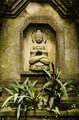 buddha image in bali indonesia
