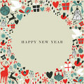 Christmas icons 2013 happy new year