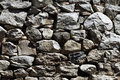 Natural pattern of a stone wall