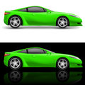 Green Sport Car