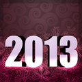 2013 new year design