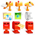 Variety of mailbox and the letter Icon sets.  Creative Icon Desi