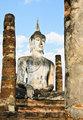 Ancient stone Buddha
