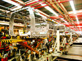 Cab body welding assembly line1