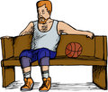 Basketball Player Resting
