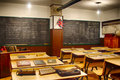 Old Vintage Classroom