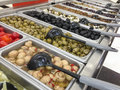 Olive Variety Buffet in Delicatessen