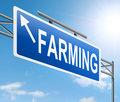 Farming concept.