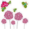 Cute spring background