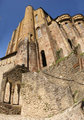 Romanesque tower and walls