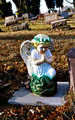 Gravesite - Angel - Blue Eyes