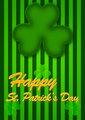 St Patricks Day Abstract background