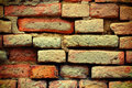 Abstract metro an old brick wall.