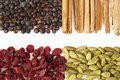 Spices and berries for gin tonic