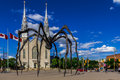Maman spider sculpture