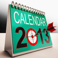 2013 Calendar Shows Future Target Plan