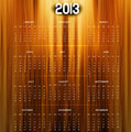 2013 calendar bright colorful shiny wood texture vector 