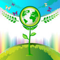 Eco Earth flowers