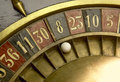 Playing on a vintage roulette