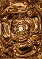 Liquid gold background