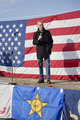 Idaho Senator speaks at rally.