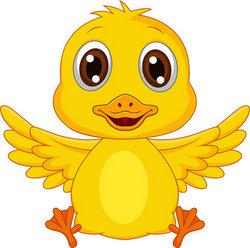 Cartoon baby duck - photo#12