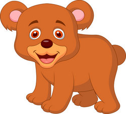 Cute grizzly bear clipart - photo#23