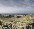 Ancient amphitheatre  in Hierapolis, Pamukkale, Turkey
